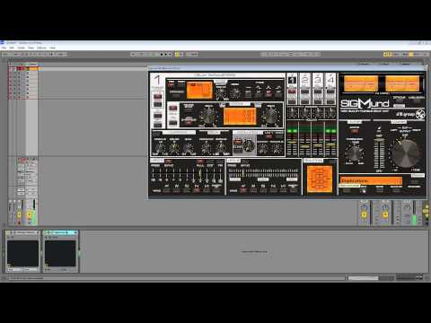 Sigmund VST- The First Patchsounds of the new Sigmund D16 Delay Plugin