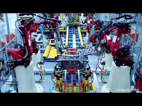 .亞洲如何主導工業機器人的應用