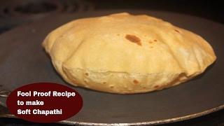 How to make Soft Chapathi|Fool Proof Recipe to make soft chapathi|Anu's Kitchen