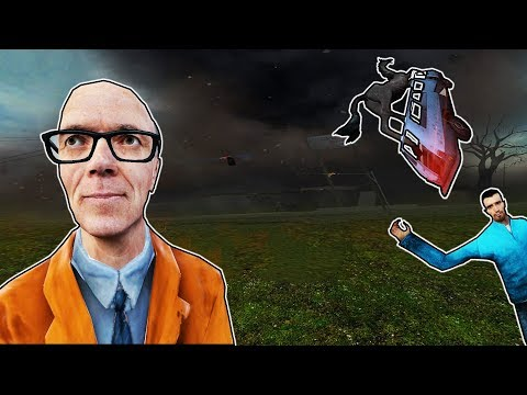 SURVIVING AN F5 TORNADO?! | Garry's Mod Gameplay | Gmod Gameplay Funny Moments - BASE BUILDING!