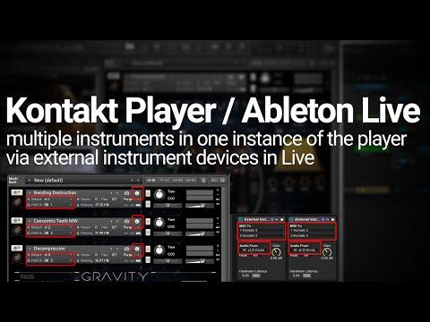 Ableton / Kontakt Tutorial - Multiple Instrument Instances Explained!