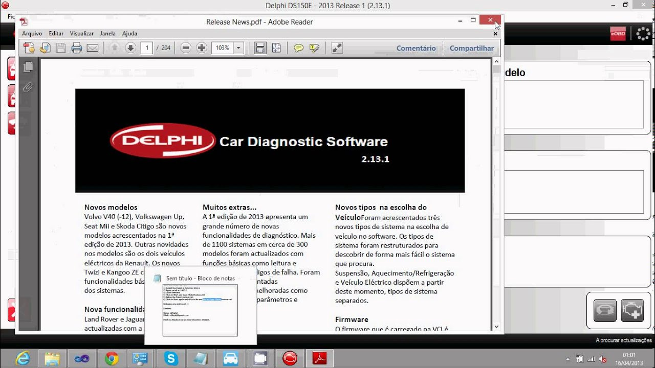 Delphi autocom 2013 release 1 patch and activation 2 13 1 youtube