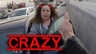 ANGRY LADY YELLING | STUPID CRAZY PEOPLE vs BIKERS |  [Ep. #131]