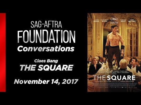 Conversations with  Claes Bang of THE SQUARE