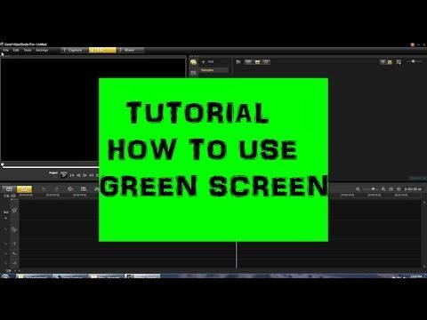 corel videostudio pro x7 tutorial how to use green screen. Black Bedroom Furniture Sets. Home Design Ideas