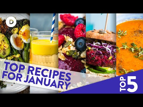 Top 5 MEAT-FREE Recipes for VEGANUARY!