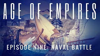 Gaming With Twinn! Let's Play AoE Ep. 9 Naval Battle