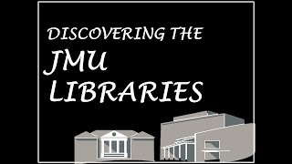 Discovering the Libraries Part 1