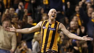 We'll miss you Rough! | Jarryd Roughead's farewell six-goal haul | Round 22, 2019 | AFL