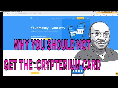 Why You SHOULD NOT Get The Crypterium Card