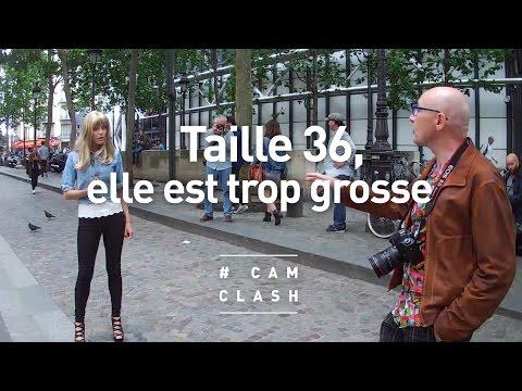 """""""Taille 36, elle est trop grosse"""" - Cam Clash"""