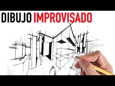 Dibujo arquitectonico improvisado quick sketch youtube for Dibujo arquitectonico