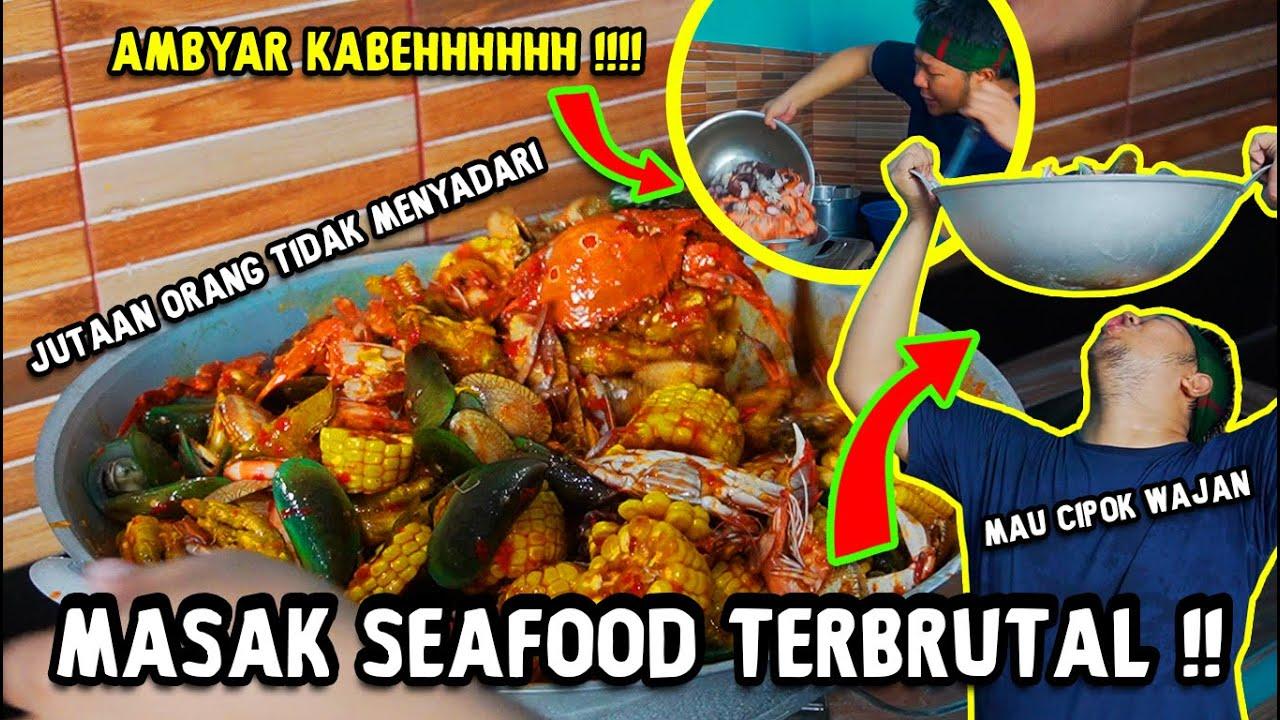 Ambyar Kabeh Masak Seafood Terbrutal Sampe Jutaan Orang Tidak