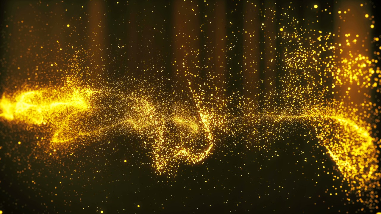 Gold Star Light Background Hd Youtube