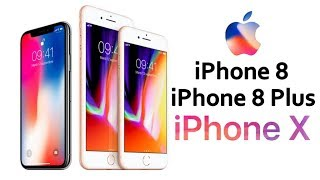 iPhone 8 / iPhone X : Présentation et Nouveautés