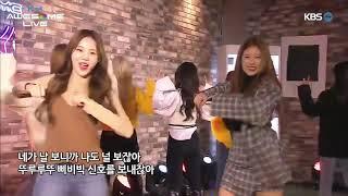 원프레임 송 라이브 : 모모랜드 (momoland)- BAAM [myK Awesome Live]