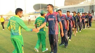 NEPAL VS PAKISTAN CRICKET,SHEIKZAYAD STADIUM,UAE