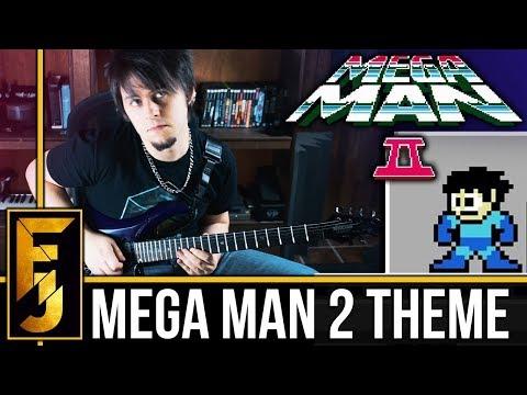 Mega Man 2 Intro/Theme Metal Guitar Cover   FamilyJules