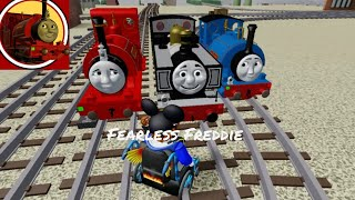 Fearless Freddie crash,rescue and ending (cbr3 remake)