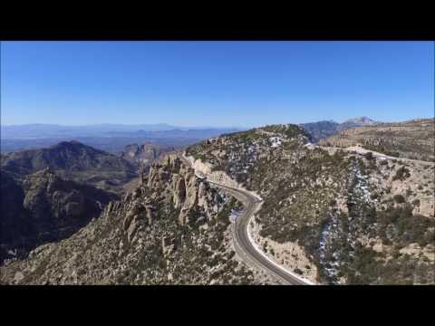 Catalina Highway ascending to Mt. Lemmon, near Tucson, Arizona