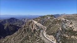 Catalina Highway ascending to Mt. Lemmon, near Tucson, Arizona