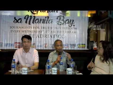 Kapihan sa Manila Bay, December 21, 2016