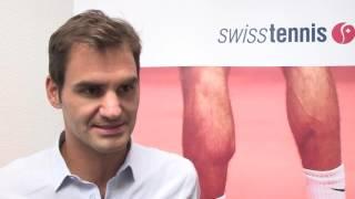 Roger Federer über die Kids Tennis High School