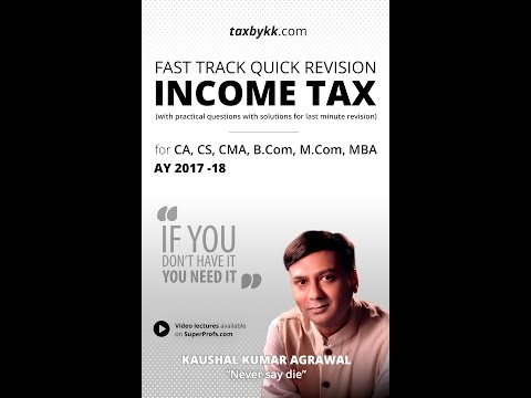 Revise entire income tax in less than 8 minutes