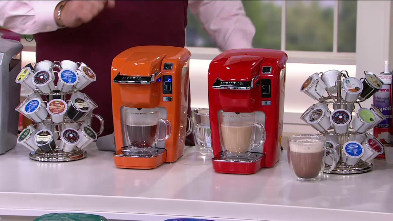 Keurig K15 Personal Coffee Maker W My K Cup 12 K Cups On Qvc