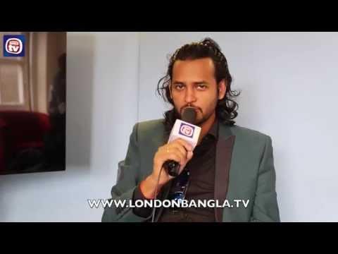 Ashik at London Bangla TV Studios