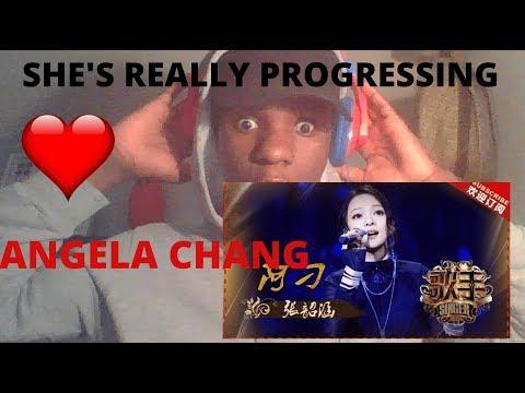 ANGELA CHANG GOODBYE YOUTH《再见青春》 - SINGER 2018 EPISODE 10||REACTION