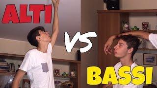 ALTI VS BASSI - DIFFERENZE