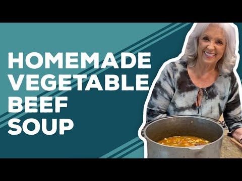 Quarantine Cooking: Homemade Vegetable Beef Soup Recipe