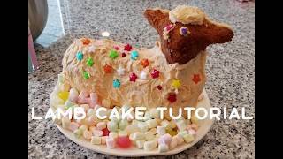 Lamb Cake Tutorial - How To Properly Prepare and Use a Vintage 3D Lamb Cake Pan
