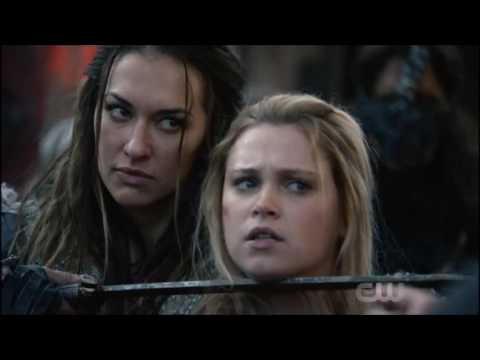 The 100 4x01 CRACK HUMOR (Start of Something New)
