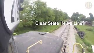 Download Video Locomotive Ride Along: Indiana Northeastern EMD GP30 MP3 3GP MP4