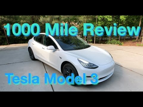 Tesla Model 3 1000 Mile Review
