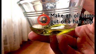 How make an oil lamp out of a hair clip: Tacticlip® Multi-tool hair clips, kippah clips