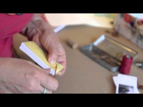 How To: Book Binding