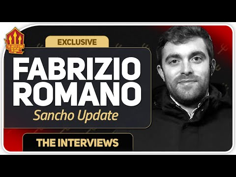 FABRIZIO ROMANO SANCHO TRANSFER UPDATE! Man Utd Transfer News