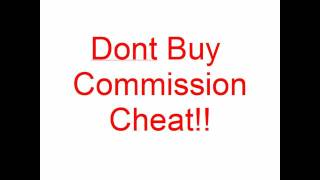 Commission Cheat Review-DONT Buy Commission Cheat!
