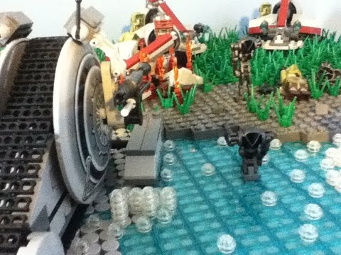 41st Elite Corps Under Kashyyyk : LEGO Clone Base MOC 2015