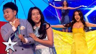 """FABULOUS"" quick-change act has us in DISBELIEF! | Unforgettable Audition | Britain's Got Talent"