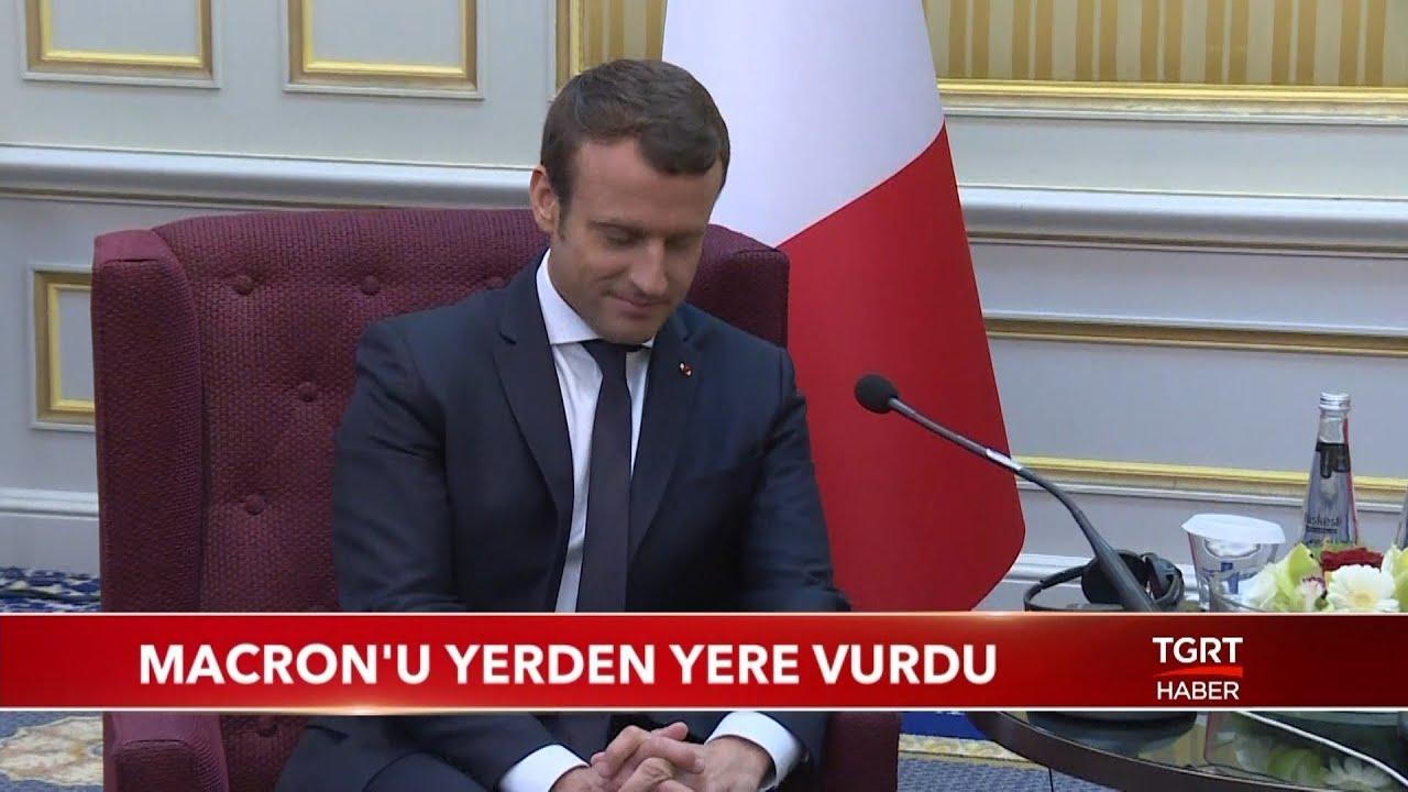 """Macron'u Yerden Yere Vurdu: """"Türkiye'ye Ders Verecek Konumda Değilsin"""""""