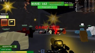 New World Record • Wave 162 • ROBLOX • Zombie Attack • 26-Jan-2019
