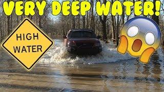 We Drove Through A RIVER!!!