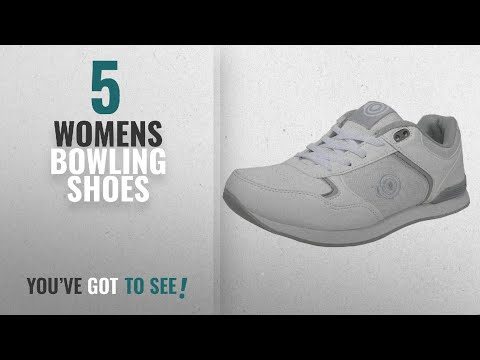 Top 10 Womens Bowling Shoes [2018]: Womens Ladies Flat Sole Lightweight Lace Up Bowls Shoes Bowling