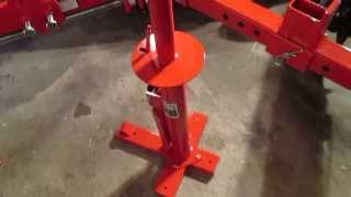DIY Motorcycle Manual Tire Changing Machine from Harbor Freight Tools Overview