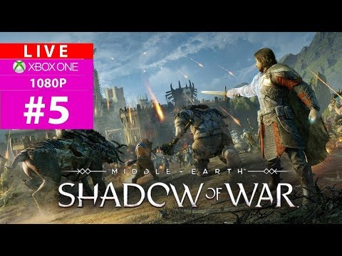 [Saranya]XB1-Live- ME: Shadow of War สงครามแหวนครองพิภพ 1080P #5
