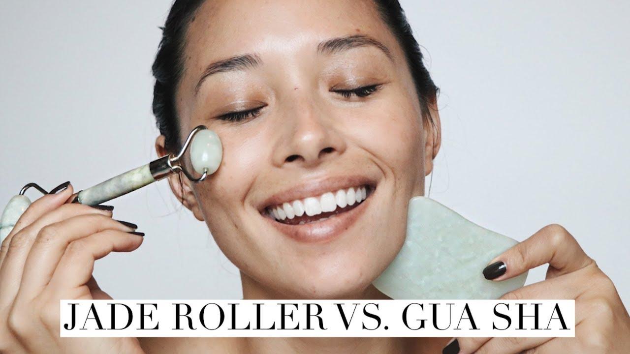 Jade Roller vs. Gua Sha | NO Wrinkles NO Breakouts! | aja dang